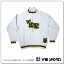 男裝棉滌開胸拉鍊衛衣 Men Cotton/Polyester Zipped Sweat with Applique Embroidery (香港)