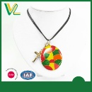 Colorful Church window Pendant Necklace (Hong Kong)