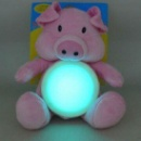 Led Night Light, Battery-Operated Novelty Flashing In Shape Of Plush Toys Used For Babies (Hong Kong)