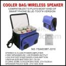 Cooler Bag with Bluetooth Speaker (Hong Kong)
