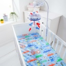 Baby Infant Crib Cot Bed Sheet	 (Taiwan)