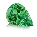Tsavorite Pearshape (Germany)