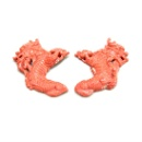 MoMo Red Coral Carving-Dragon (Taiwan)