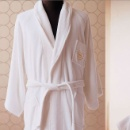 Hotel Luxury Bathrobe For 5 Star Hotel With Embroidery Logo (China)