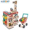 Food Toys Calculator Cash Register and Shopping Cart (Mainland China)