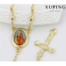 43056 Fashion Charm Joan Cross 14k Gold-Plated Imitation Alloy Copper Jewelry Chain Necklace (Mainland China)