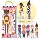 DIY Dress Up Dolls Fashion Kit - Voguish Girls (Hong Kong)