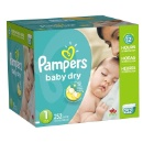 Baby Diapers & Wipes (Pampers/ Huggies/ Seventh Generation) (Hungary)
