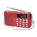 Mini radio dual portable PM-L218 AM/FM de Digital de la venda (China)