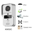 H.264 720P WiFi Video Doorbell Supports RFID Card and Memory Card (Mainland China)