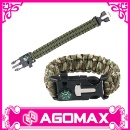 Paracord Survival Bracelet (Hong Kong)