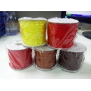 Inelasticity Polyester Braided Cord In Stock Thread and Trimming (Mainland China)