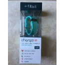 New Fitbit Charge HR Activity, Heart Rate + Sleep Wristband Large Teal (Hong Kong)