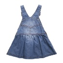 Baby Clothes Toddler Girls Denim Dress (Hong Kong)