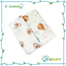 Natural Cotton Baby Breathable Muslin Swaddle Stroller Cover (Mainland China)