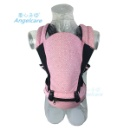 Baby Ergonomic Carrier Sling Soft Hip Seat Headphone Port and Hood (Pink) (China)