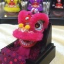 Lion Dance ornament with magnet(HeShan Style) (Hong Kong)