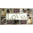 LOVE Collage Photo Frame 10 Multi Opening (China continental)