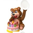 Party Bear Delighting Desktop Game Fancy and Funny (Hong Kong)