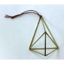 Brass Tube Airplant Holder (Hong Kong)