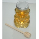 Glass Bottle with Wooden Spoon (Hong Kong)