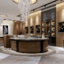 Wooden Jewelry Display Showcase (Mainland China)