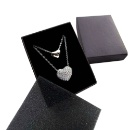 Black Paper Box for Necklaces (Hong Kong)