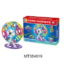 DIY Educational Toys Plastic Magnetic Building Blocks (Hong Kong)