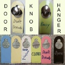 Door Message Knob Hanger (Hong Kong)