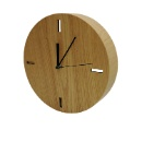 Ash Wood Veneer Clock (Hong Kong)