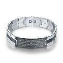 Cross Stainless Steel Bracelet (Mainland China)