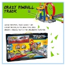 Plastic Racing Car Toy Set with Alloy Cars (China)