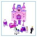 Plastic Doll House Set with Light and Music (Mainland China)
