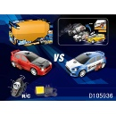 27Mhz 4 Channels RC Battle Bounce Car Set with Light (Hong Kong)