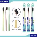 Eco-Friendly Biodegradable Wheat Straw Adult Toothbrush 168 (Hong Kong)