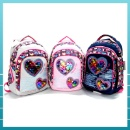 Sequin Heart Design School Bag (Mainland China)