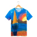 New Design 3D Printed Beautiful T Shirt Water Fall (Hong Kong)