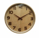 Wooden Wall Clock (Mainland China)