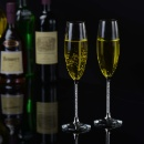 Elegant Design Crystal Champagne Flute Glass (Taiwan)