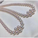 Shining Freshwater White Pearl Necklace (Hong Kong)