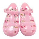 Floral Toddler Jelly Sandal (Hong Kong)