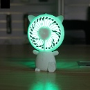 Portable Mini Hand Fan with LED Light (China)