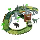 Race Track Dinosaur World Bridge Toy Car Track Play Set  (Hong Kong)