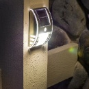 Solar Sensor LED Wall Light (China)