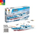 Multicolor Kids Self Assembled Boat Building Block Toy (Hong Kong)
