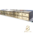 Stainless Steel Letter Box Ti-Gold (Hong Kong)