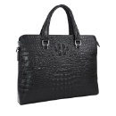 Artificial Crocodile Leather Man Laptop Bag (Mainland China)
