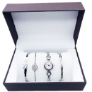 Watch with Steel Jewelry Gift Set (Hong Kong)