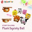 Plush Squishy Ball Toy (Mainland China)