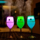 Wine Cup Shape Portable Air Cleaner Night Light (China)